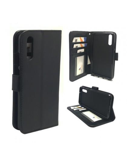 Classic Zwart Booktype Hoesje Huawei P20