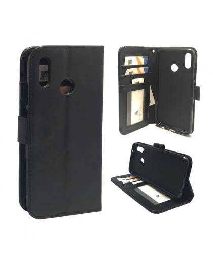 Classic Black Bookcase Huawei P20 Lite