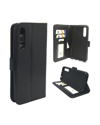 Classic Black Bookcase Huawei P20 Pro
