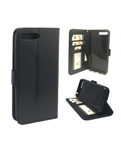 Classic Black Bookcase Huawei Y6 2018