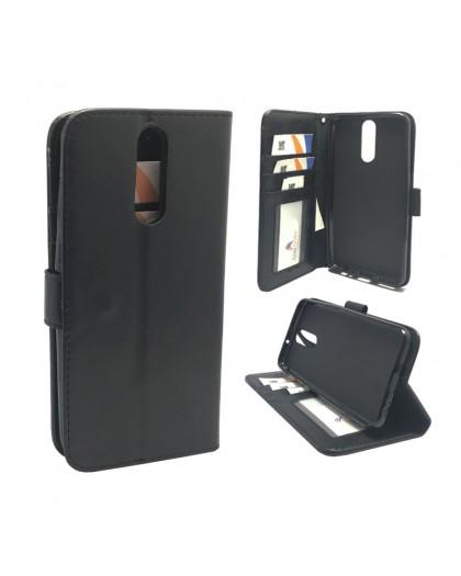 Classic Zwart Booktype Hoesje Huawei Mate 10 Lite