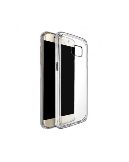 Transparant Samsung Galaxy S7 Edge TPU Hoesje