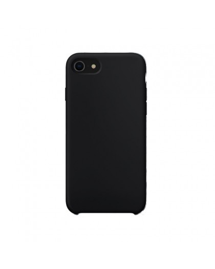 Liquid Silicone Case iPhone 8 / 7 - Black