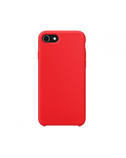 Liquid Silicone Case iPhone 8 / 7 - Rood