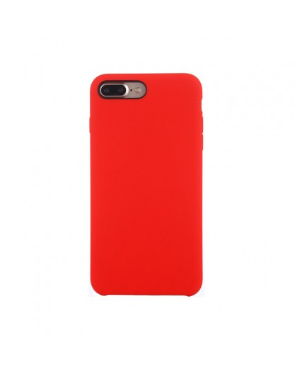 Liquid Silicone Case iPhone 8 Plus / 7 Plus - Rood