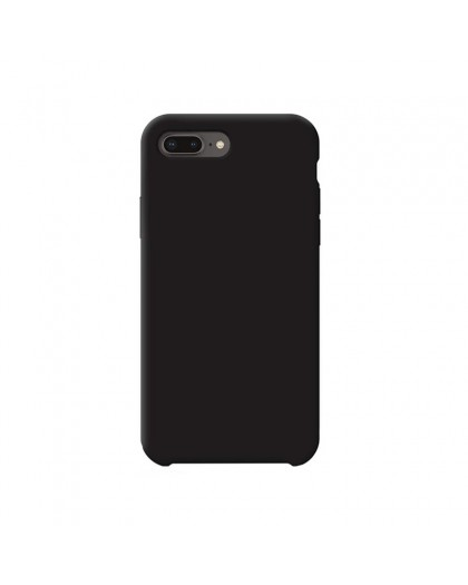 Liquid Silicone Case iPhone 8 Plus / 7 Plus - Black