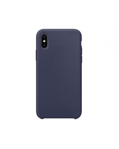 Liquid Silicone Case iPhone XS / X - Horizon Blue
