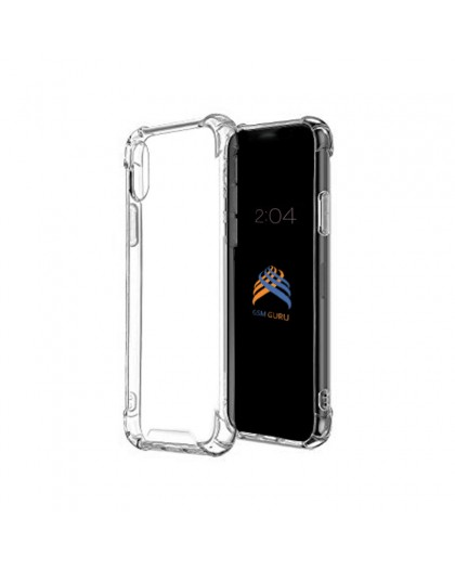 KingKong Anti-Burst Armor Case iPhone XR - Transparant