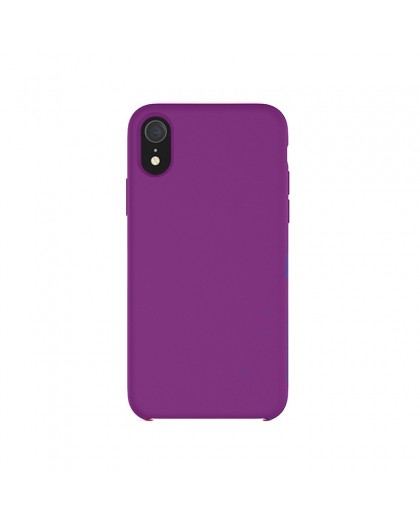 Liquid Silicone Case iPhone XR - Lila