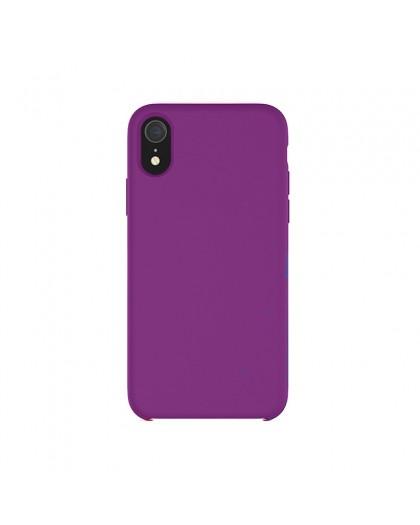 Liquid Silicone Case iPhone XR - Purple