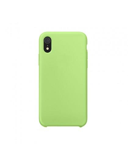 Liquid Silicone Case iPhone XR - Grün