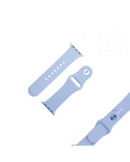 Hellblau Sport Armband für die Apple Watch 44 / 42 mm