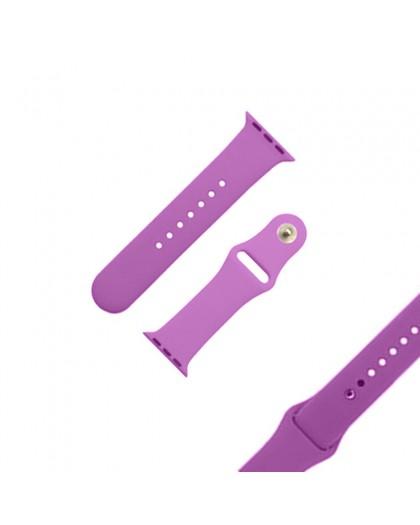 Lila Sport Armband für die Apple Watch 44 / 42 mm