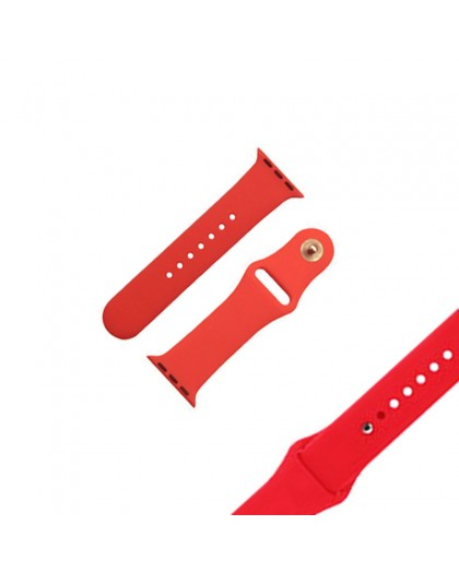 Rood Sport Bandje Voor de Apple Watch 40 / 38 mm