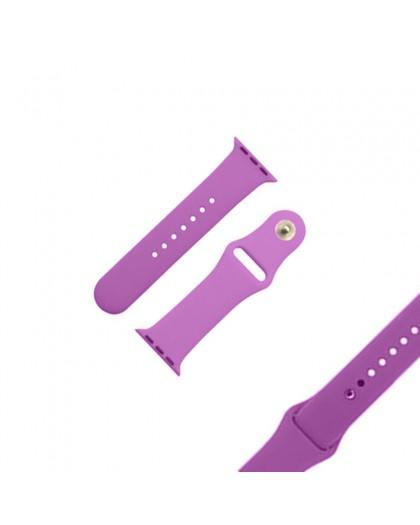 Lila Sport Armband für die Apple Watch 40 / 38 mm