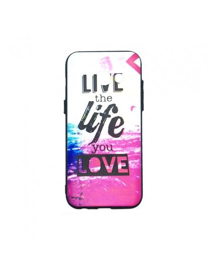 Life Quote design TPU Hoesje Samsung Galaxy A3 2017
