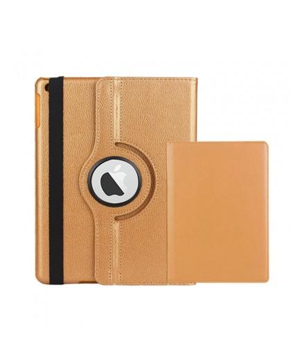 Goud 360 Draaibare Tablethoes Voor de iPad 3 / 4
