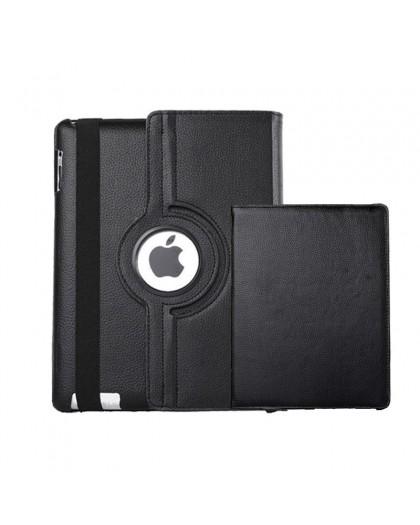 Zwart 360 Draaibare Tablethoes Voor de iPad 3 / 4