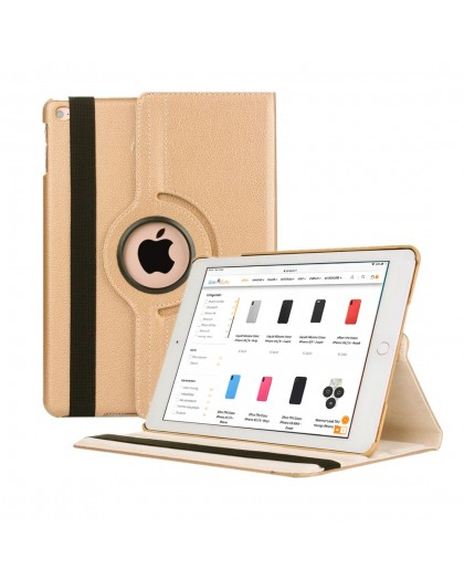 Goud 360 Draaibare Tablethoes Voor de iPad Air 2