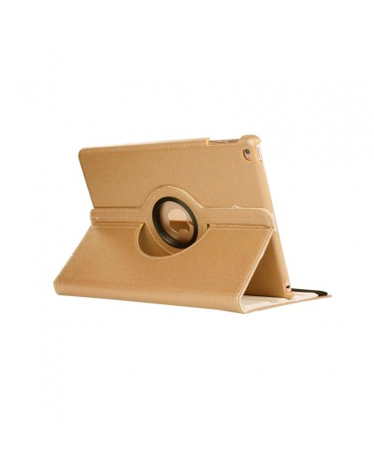 Gold 360 Rotating Tablet Case For the iPad 2018 / 2017