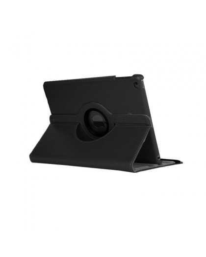 Black 360 Rotating Tablet Case For the iPad 2018 / 2017