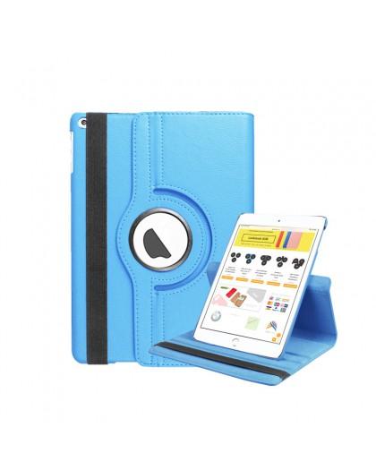 Lichtblauwe 360 Draaibare Tablethoes Voor de iPad Mini 4