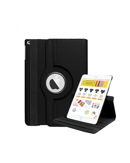 Black 360 Rotating Tablet Case For the iPad Mini 4