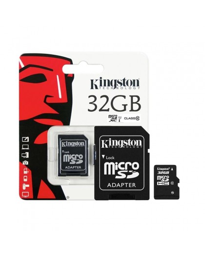 Kingston Micro SDHC Card 32 GB Class 10