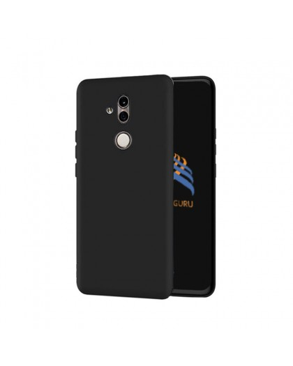 Solid Black Color TPU Case Huawei Mate 20 Lite