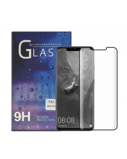 Edge to Edge Tempered Glass Displayschutz Huawei Mate 20 Pro