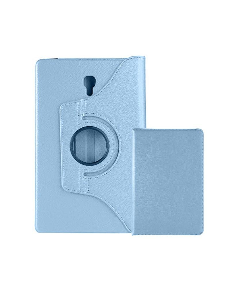 Peachy Samsung Galaxy Tab A 10 5 2018 360 Rotating Case Light Blue Evergreenethics Interior Chair Design Evergreenethicsorg