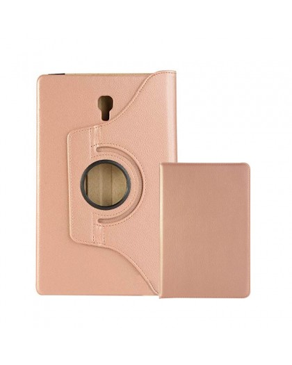 Rosé Goud 360 Draaibare Tablethoes Voor Samsung Galaxy Tab A 10.5 (2018)