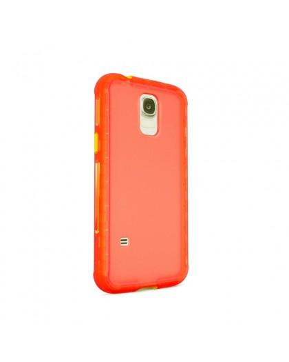 Belkin AIR PROTECT Grip Extreme Samsung Galaxy S5 Oranje / Geel