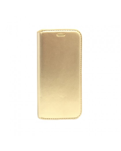 CoolCase Gold Book Case For Samsung Galaxy A3 2017