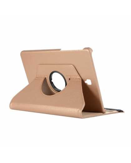 Gold Black 360 Rotating Tablet Case For Samsung Galaxy Tab S4 10.1