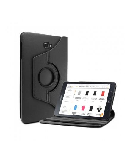 Schwarz 360 Schwenkbare Tablet-Hülle Für Samsung Galaxy Tab A 10.1 (2016)
