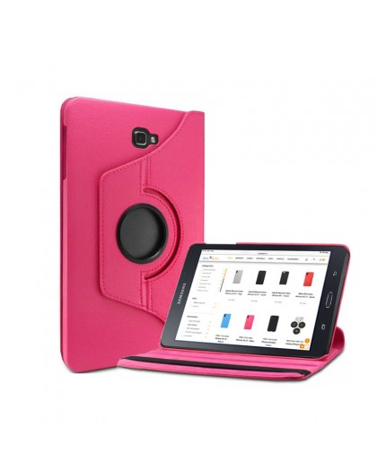 Roze 360 Draaibare Tablethoes Voor Samsung Galaxy Tab A 10.1 (2016)