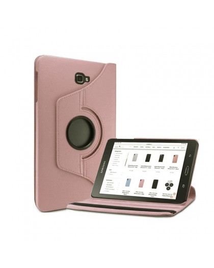 Rosé Gold 360 Rotating Tablet Case For Samsung Galaxy Tab A 10.1 (2016)