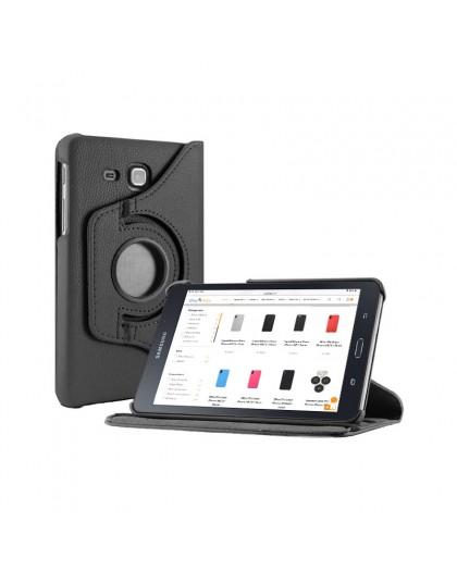 Black 360 Rotating Tablet Case For Samsung Galaxy Tab A 7.0 (2016)