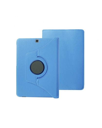 Light Blue 360 Rotating Tablet Case For Samsung Galaxy Tab A 9.7