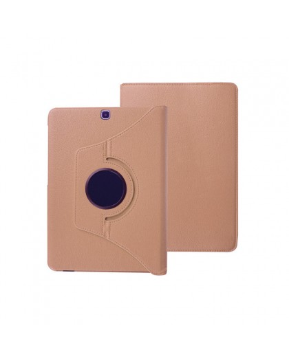Rose Goud 360 Draaibare Tablethoes Voor Samsung Galaxy Tab A 9.7