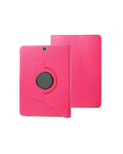 Roze 360 Draaibare Tablethoes Voor Samsung Galaxy Tab A 9.7