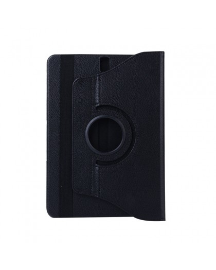 Black 360 Rotating Tablet Case For Samsung Galaxy Tab S3 9.7