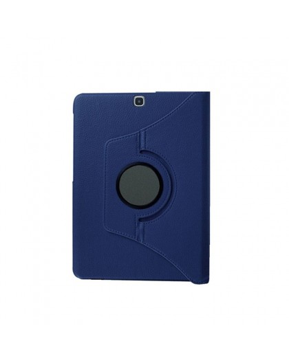 Blue 360 Rotating Tablet Case For Samsung Galaxy Tab S2 8.0