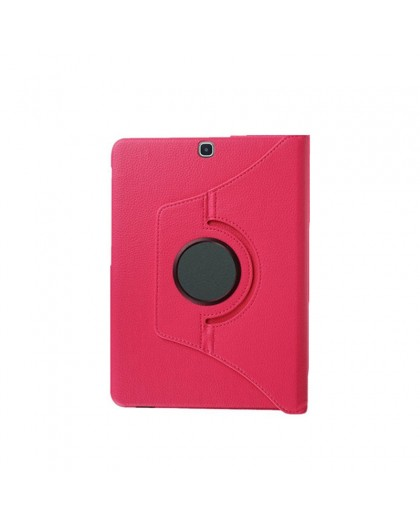 Pink 360 Rotating Tablet Case For Samsung Galaxy Tab S2 8.0