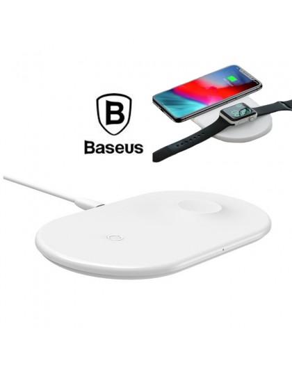 Baseus 2 in 1 Draadloze Oplader Smartphone / Smartwatch