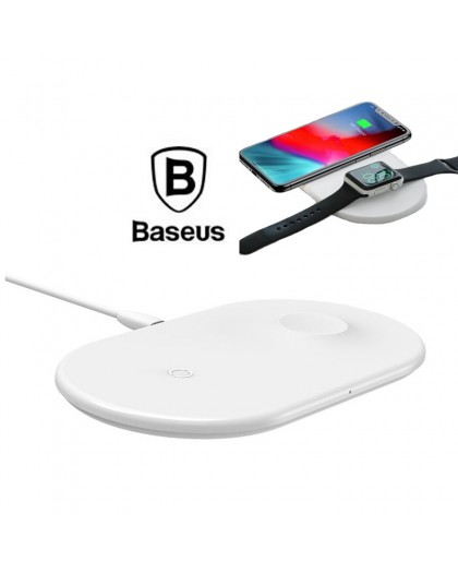 Baseus 2 in 1 Wireless Charger Smartphone / Smartwatch