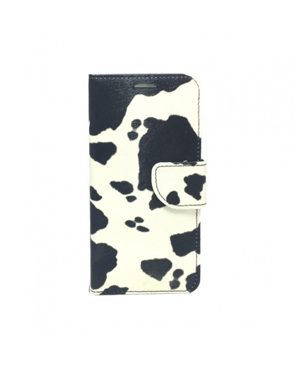 Cow print Book cover Samsung Galaxy S7 Edge