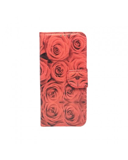 Roses Book Cover For Samsung Galaxy S7