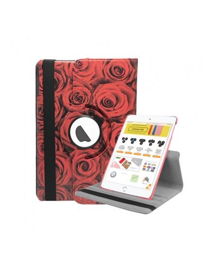 Rote Rosen 360 Drehbare Tablet-Abdeckung Für das iPad Mini 4